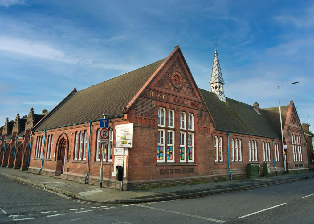 The Eastern Angles Centre building in Gatacre Road, Ipswich.