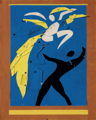 Artwork inspired by dance and movement.